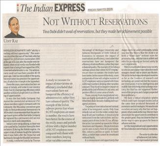 Not Without Reservations